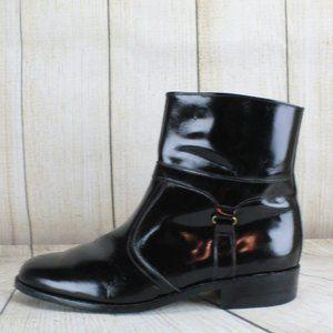 STUART McGUIRE Side Zip Dress Ankle Boots Size 9.5